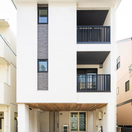 3階建ての家 【部分共有型・二世帯住宅】